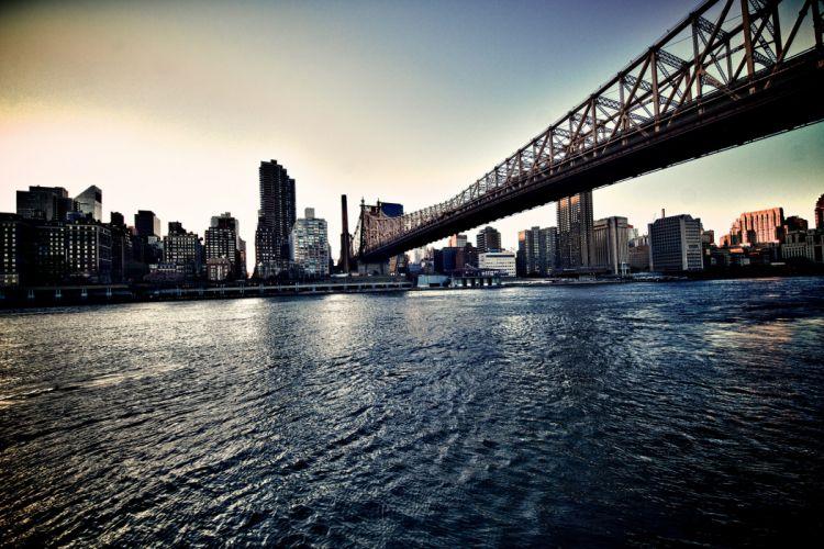 new york nyc queensboro bridge wallpaper