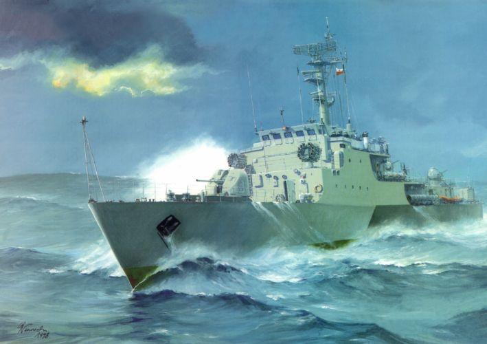 Ships ship boat Painting military navy wallpaper
