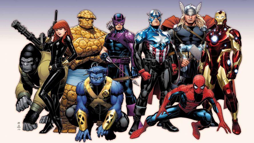 Avengers Marvel superhero wallpaper