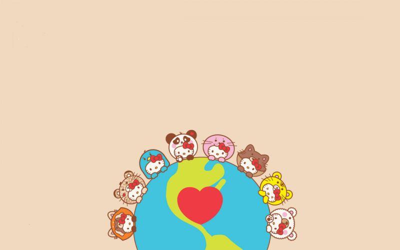 Hello Kitty Heart wallpaper