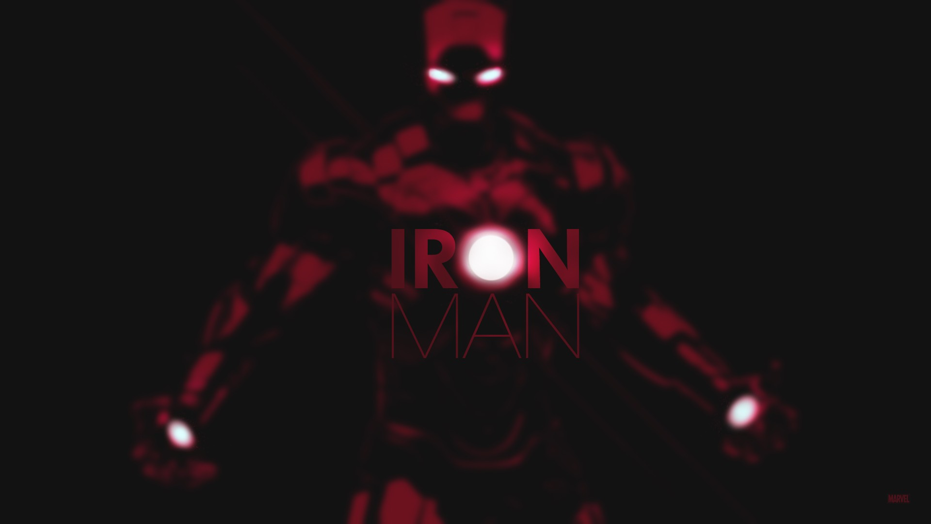 Iron Man Marvel Black Superhero Wallpaper