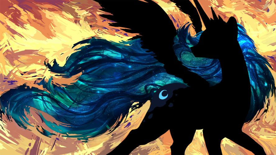 My Little Pony Abstract fantasy wallpaper