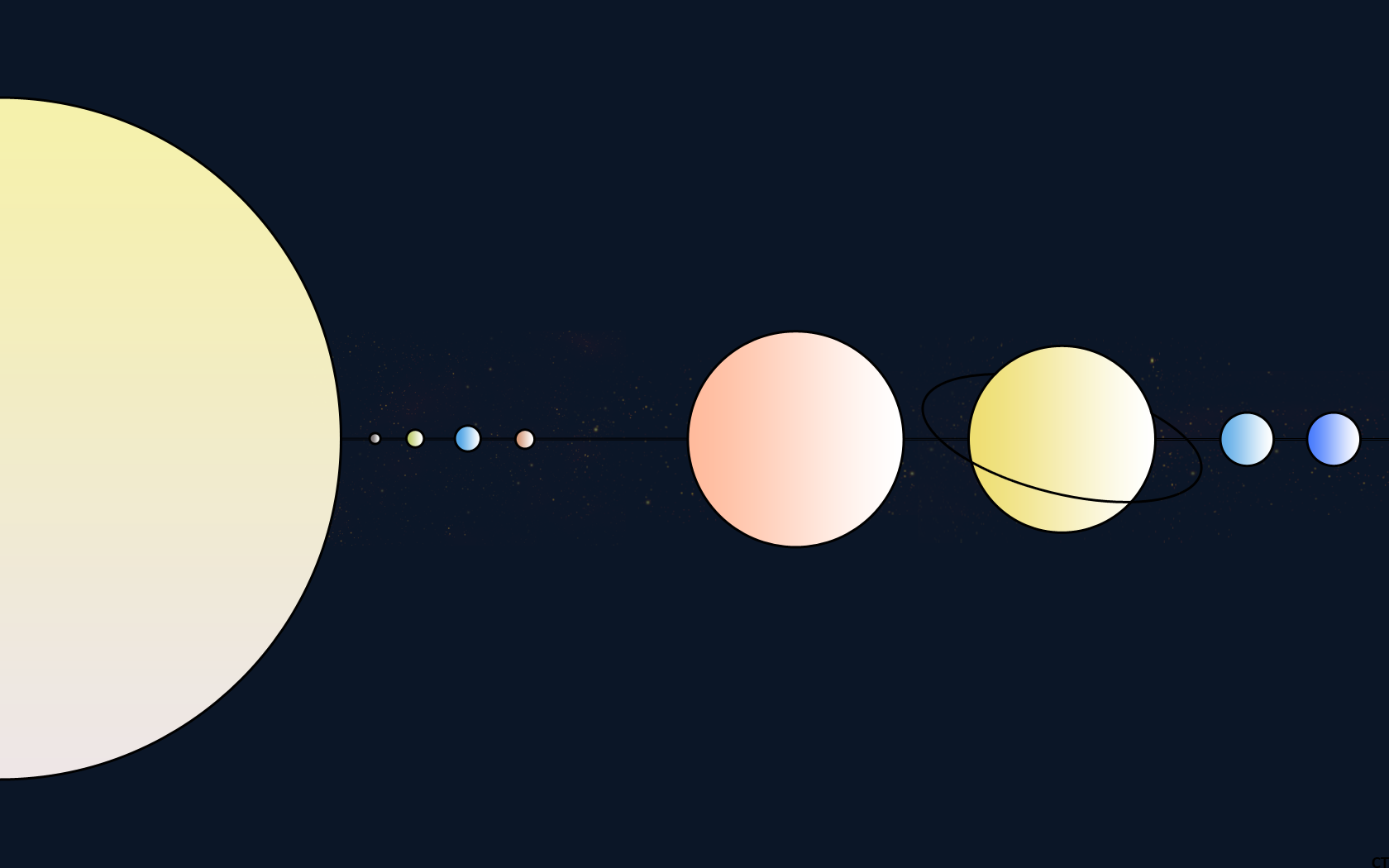 planets solar system wallpaper 1920x1200 - photo #27
