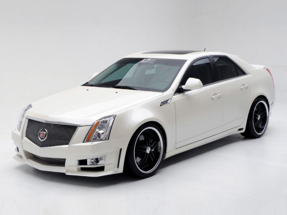 2008 Cadillac CTS tuning     g wallpaper