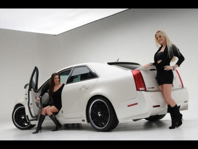 2008 Cadillac CTS tuning h wallpaper