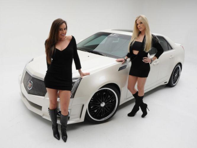 2008 Cadillac CTS tuning m wallpaper