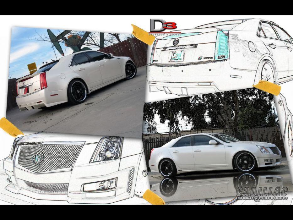 2008 Cadillac CTS tuning   ga wallpaper