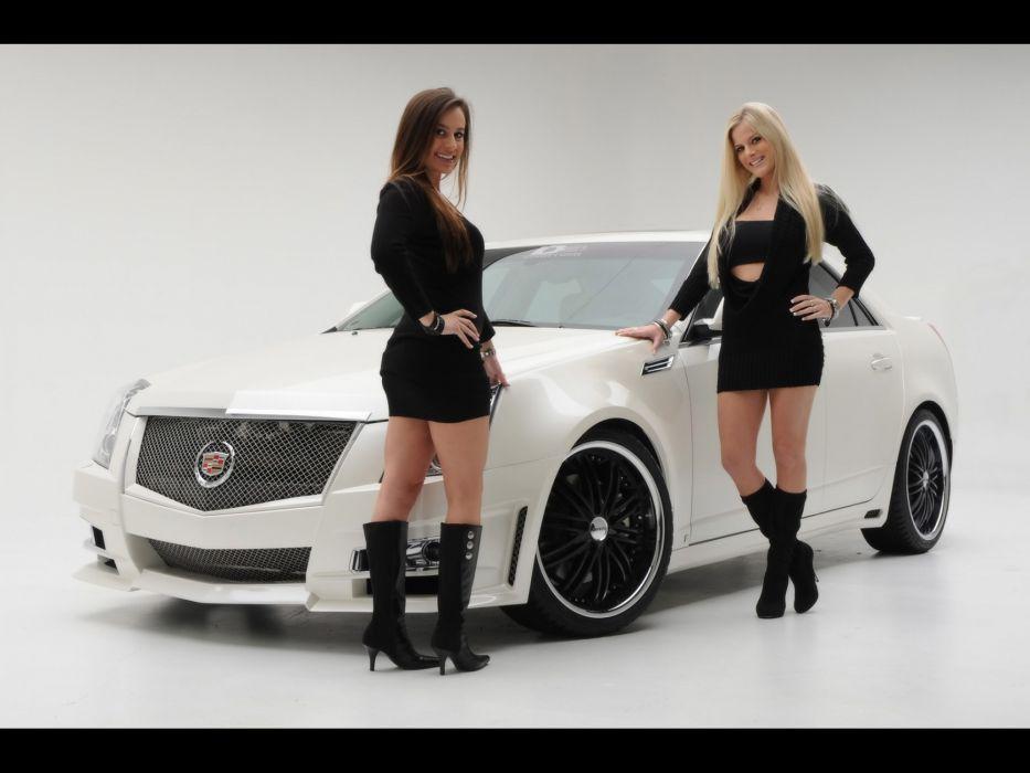 2008 Cadillac CTS tuning   gb wallpaper