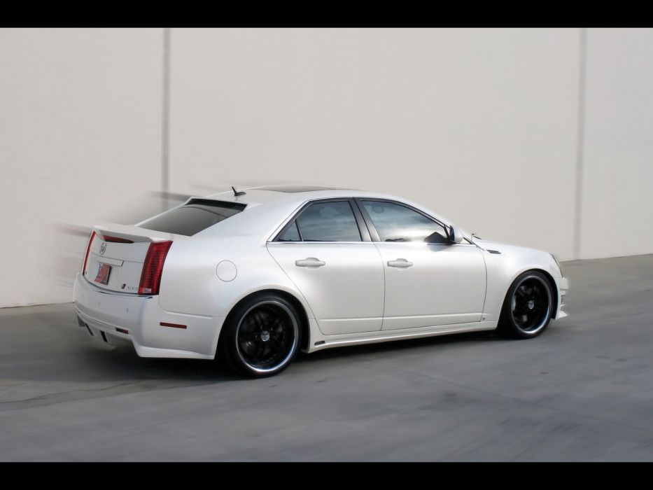 2008 Cadillac CTS tuning   hw wallpaper