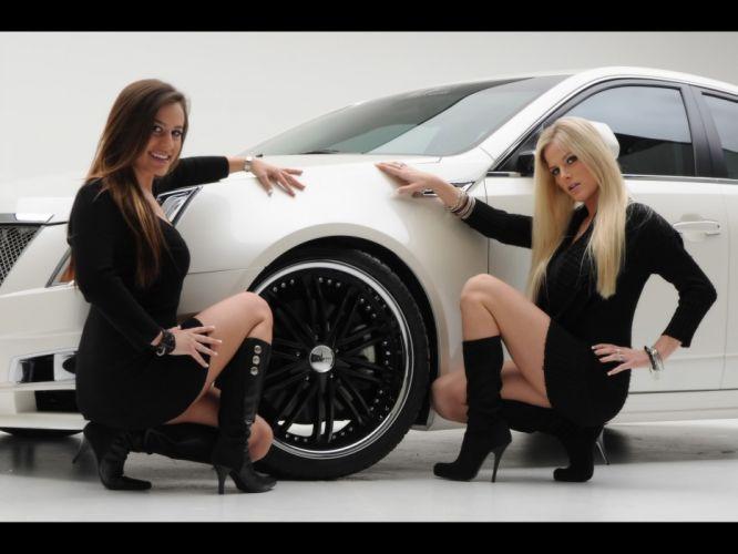 2008 Cadillac CTS tuning wheel wheels wallpaper