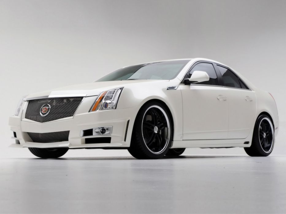 2008 Cadillac CTS tuning wallpaper