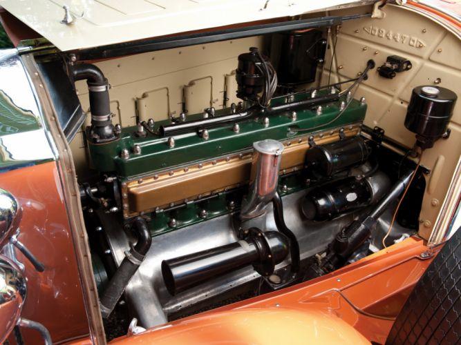 1929 Packard Custom Eight Roadster 640-342 luxury retro engine engines f wallpaper