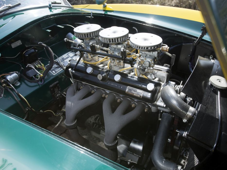 1954 Arnolt-Bristol Deluxe Roadster retro race racing supercar supercars engine engines     g wallpaper