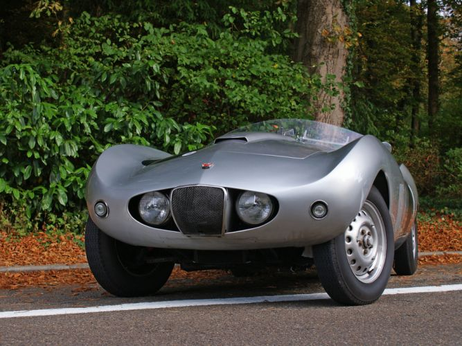 1954 Arnolt-Bristol Deluxe Roadster retro race racing supercar supercars ds wallpaper