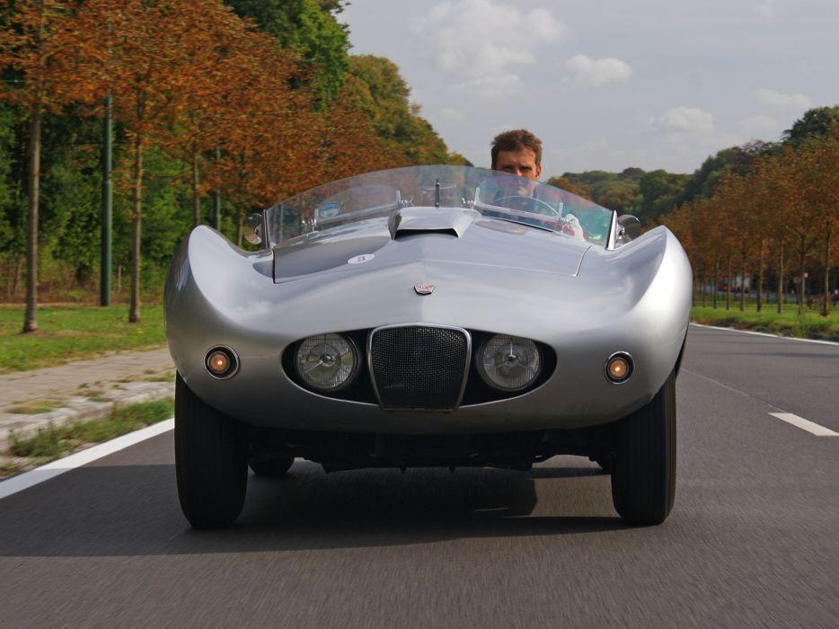 1954 Arnolt-Bristol Deluxe Roadster retro race racing supercar supercars  d wallpaper