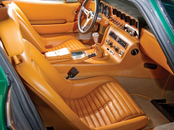 1965 Bizzarrini 5300 G-T Strada supercar supercars classic interior d wallpaper