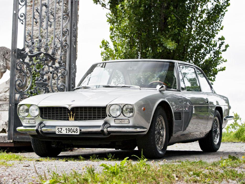 1966 Maserati Mexico AM112 classic  f wallpaper