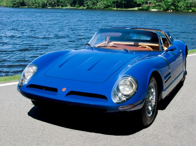 1967 Bizzarrini 5300 S-I Spyder supercar supercars classic f wallpaper
