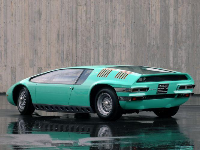 1968 Bizzarrini Manta supercar supercars classic f wallpaper