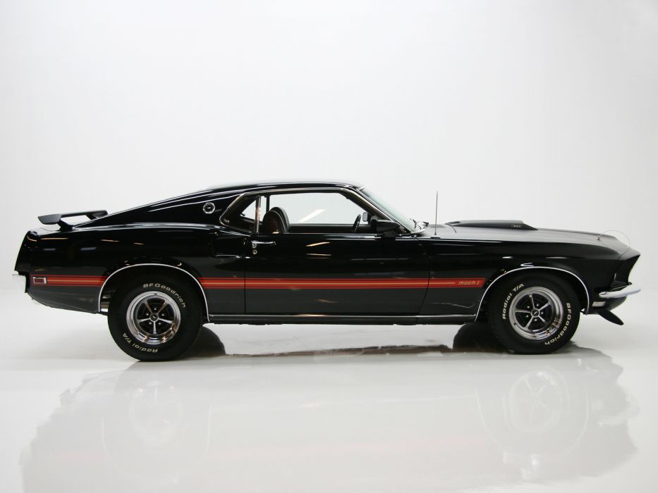 1969 Ford Mustang Mach 1 muscle classic    f wallpaper