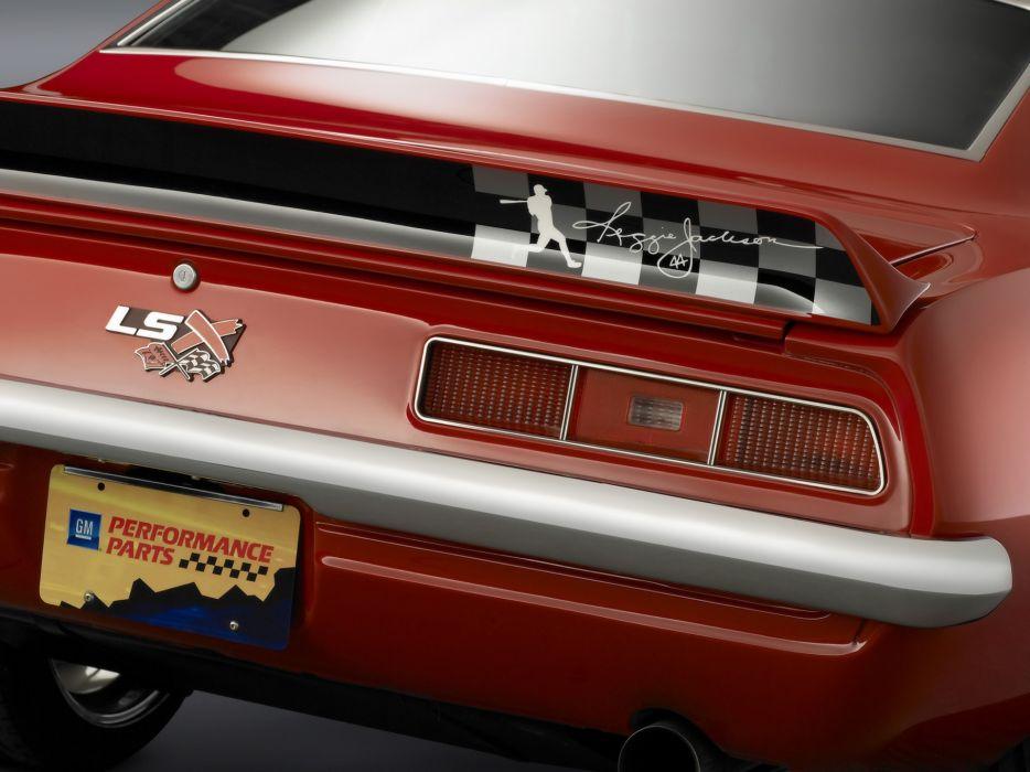 1969 Reggie Jackson Chevrolet Camaro muscle classic hot rod rods   f wallpaper