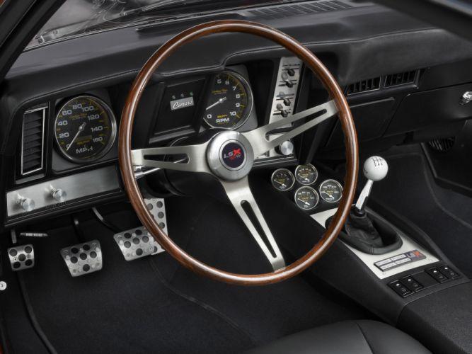 1969 Reggie Jackson Chevrolet Camaro muscle classic hot rod rods interior f wallpaper