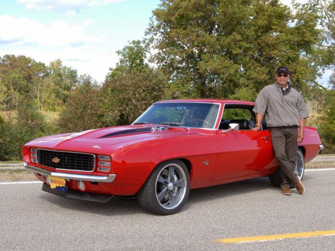 1969 Reggie Jackson Chevrolet Camaro muscle classic hot rod rods baseball wallpaper