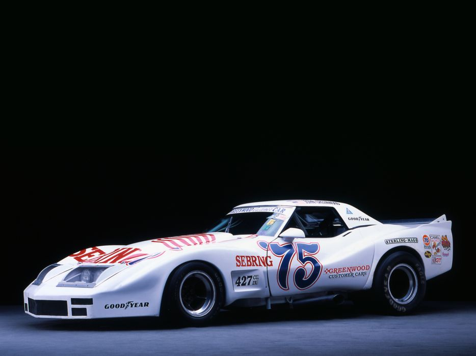1974 Greenwood Chevrolet Corvette IMSA Road Racing G-T C-3 race supercar supercars muscle classic hot rod rods     g wallpaper