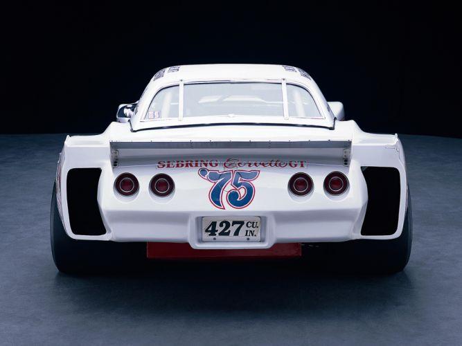 1974 Greenwood Chevrolet Corvette IMSA Road Racing G-T C-3 race supercar supercars muscle classic hot rod rods f wallpaper