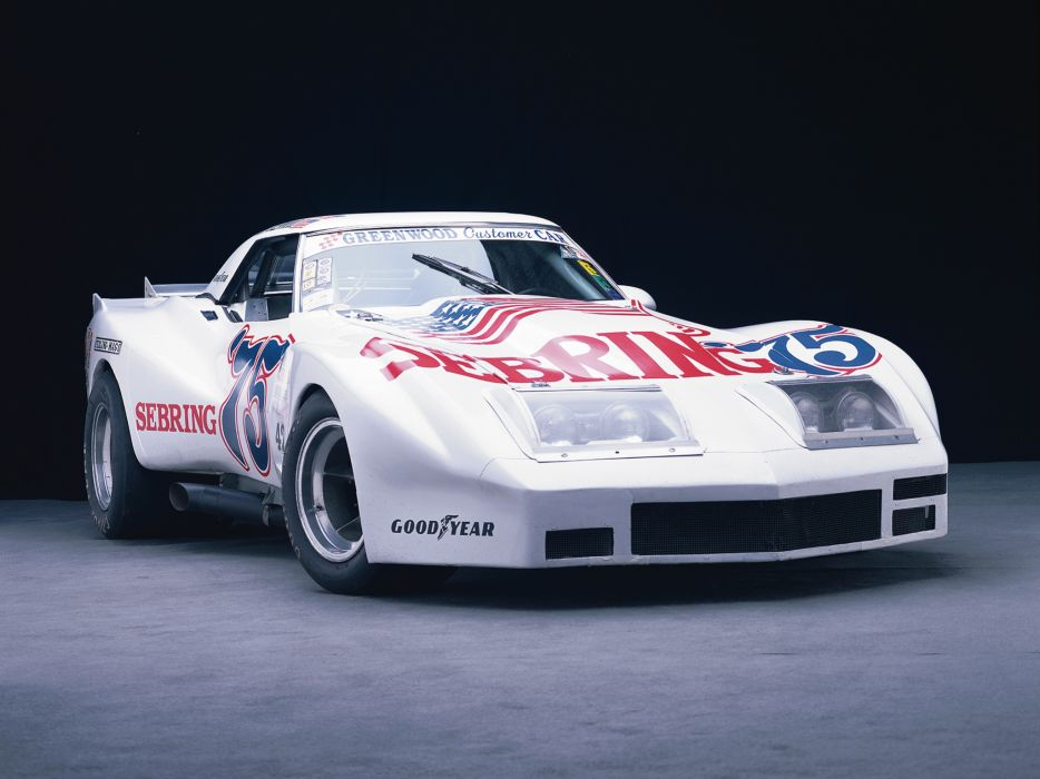 1974 Greenwood Chevrolet Corvette IMSA Road Racing G-T C-3 race supercar supercars muscle classic hot rod rods wallpaper