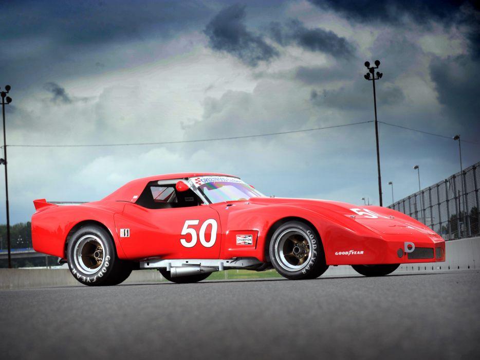 1977 Greenwood Chervrolet Corvette IMSA Racing Coupe C-3 race supercar supercars muscle classic hot rod rods    fe wallpaper