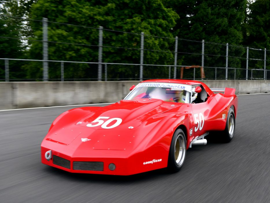 1977 Greenwood Chervrolet Corvette IMSA Racing Coupe C-3 race supercar supercars muscle classic hot rod rods   f wallpaper