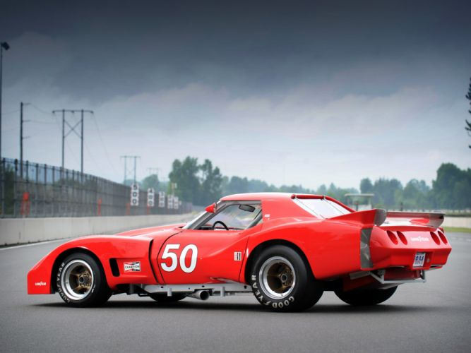 1977 Greenwood Chervrolet Corvette IMSA Racing Coupe C-3 race supercar supercars muscle classic hot rod rods wallpaper