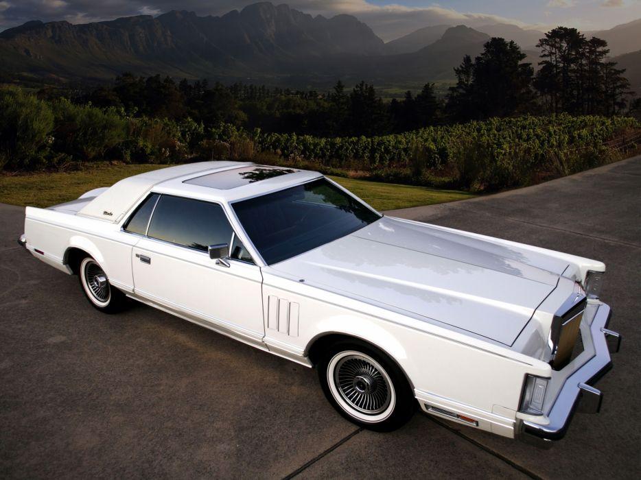 1977 Lincoln Continental Mark-V classic luxury mark   w wallpaper