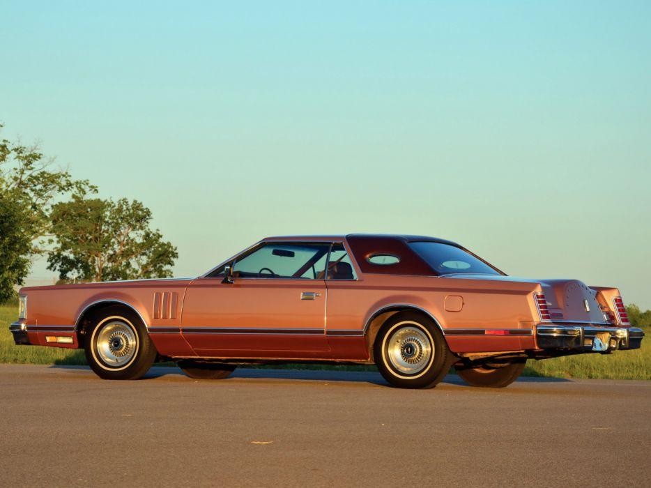 1977 Lincoln Continental Mark-V classic luxury mark  f wallpaper