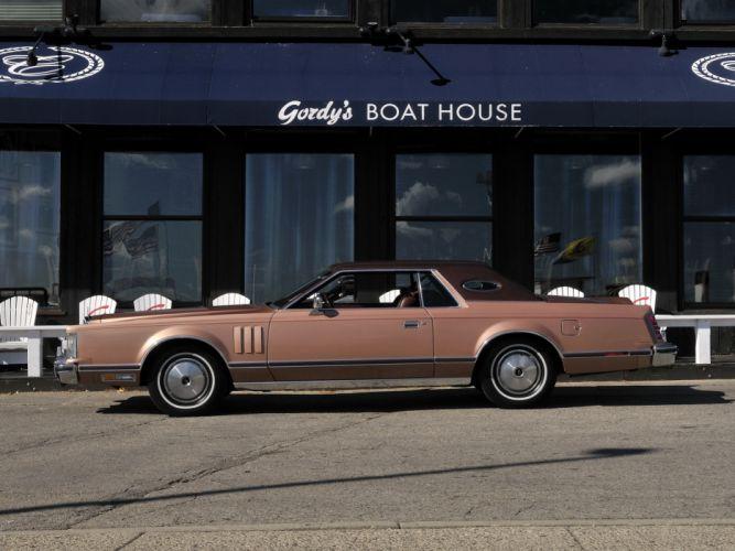 1977 Lincoln Continental Mark-V classic luxury mark gf wallpaper