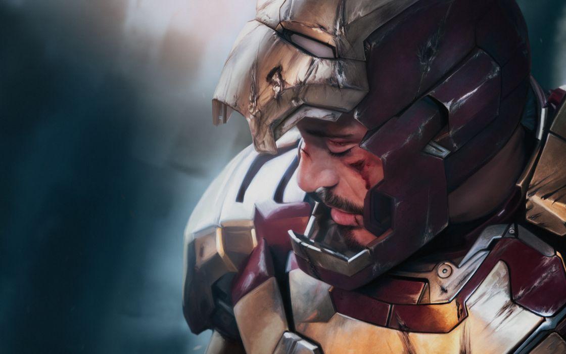 Iron Man Men 3 Armor Helmet Movies wallpaper