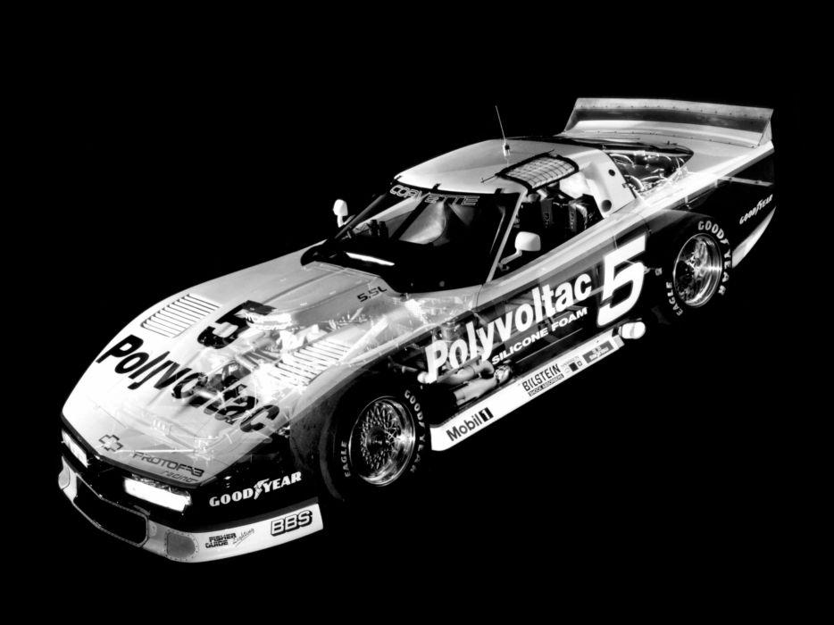 1988 Chevrolet Corvette IMSA GTO C-4 race racing supercar supercars classic wallpaper