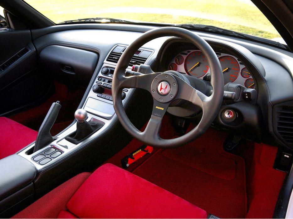 2002aei05 Honda NSX-R NA2 supercar supercars nsx interior      f wallpaper