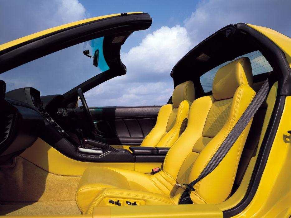 2002aei05 Honda NSX-T NA2 supercar supercars nsx interior wallpaper