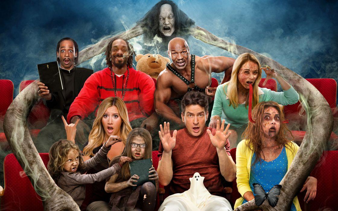 Scary Movie Men 5 Movies Humor Girls Celebrities wallpaper