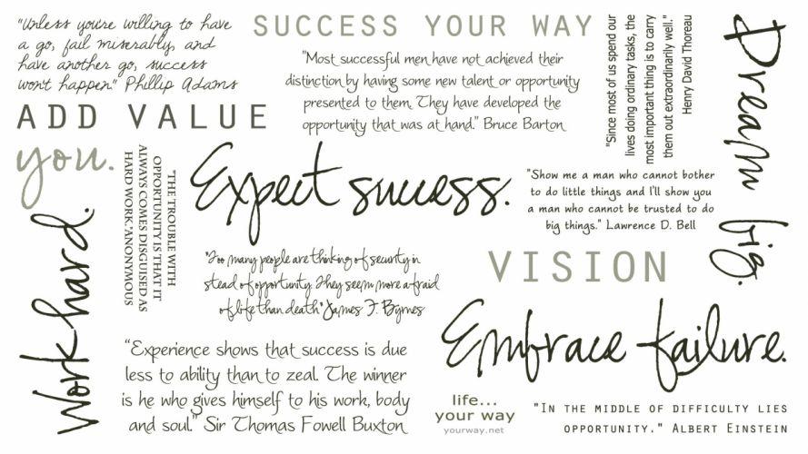 Success White wallpaper