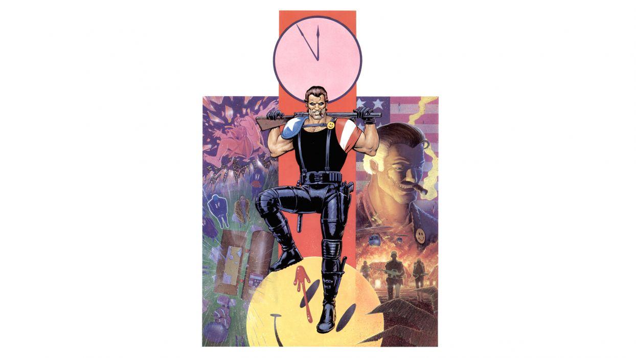 Watchmen Comedian wallpaper
