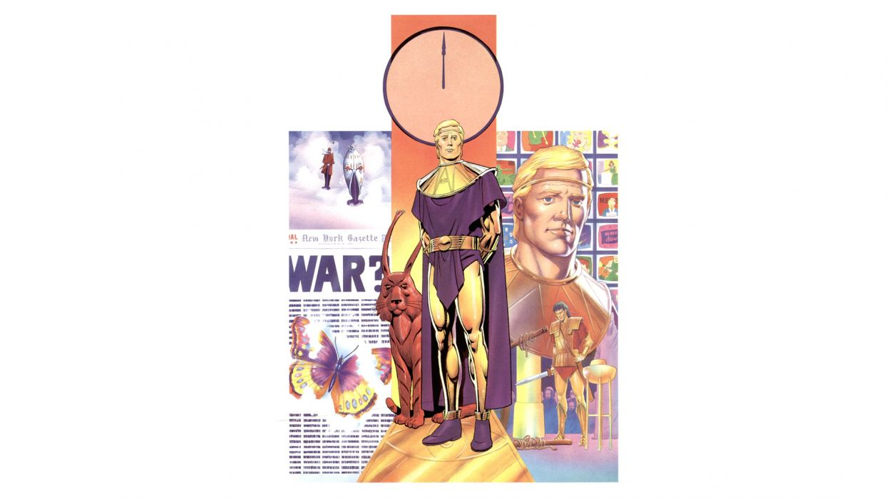 Watchmen Ozymandias wallpaper