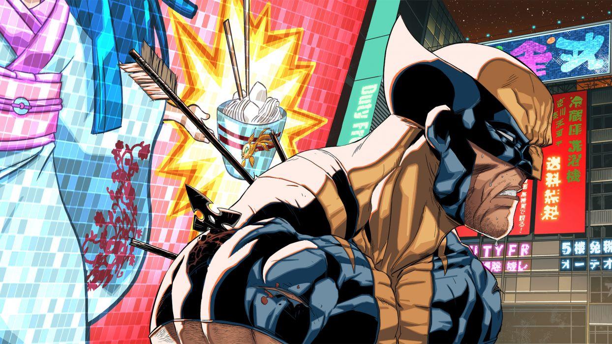 Wolverine Marvel wallpaper