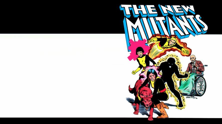 X-Men Mutants White Marvel wallpaper