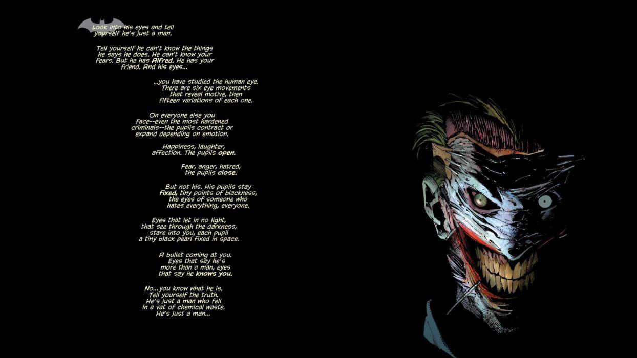 Batman DC- darkComics Death of the Family Joker wallpaper