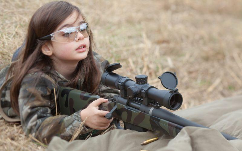 girl girls sniper weapon snipers weapons guns gun blonde rifle military wallpaper
