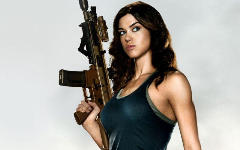 women sexy weapons weapon gun brunette military guns gun girl girls g wallpaper