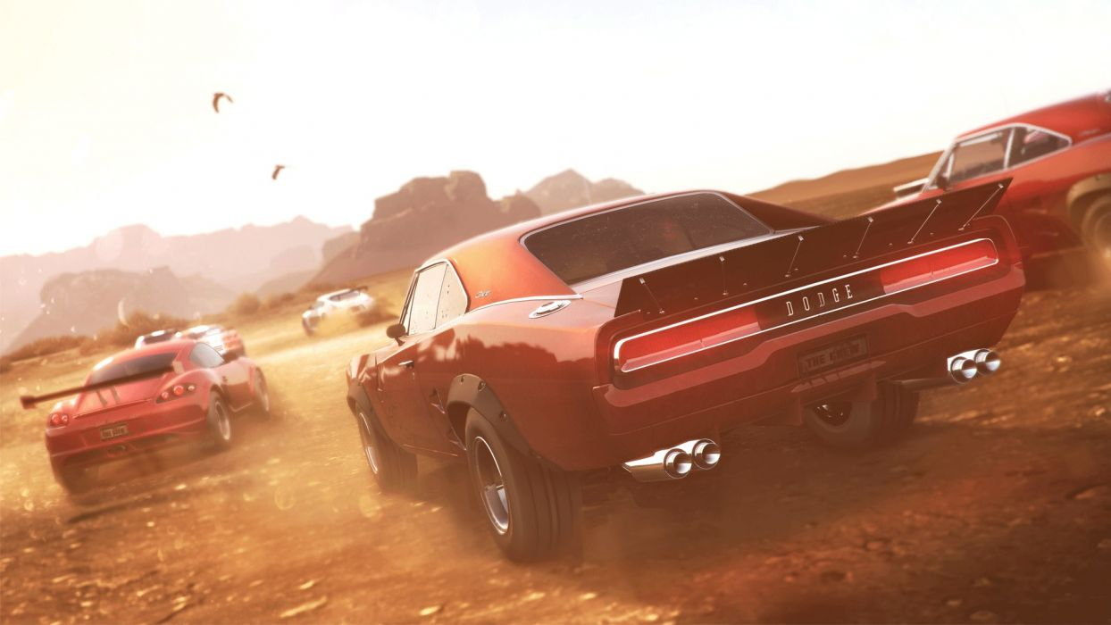 The Crew muscle dodge hot rod rods wallpaper